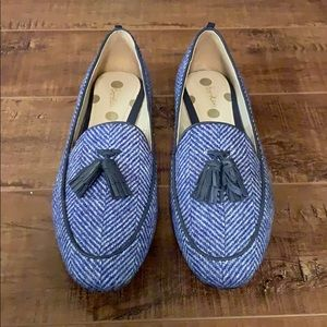 Boden Tweed Loafers